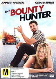 The Bounty Hunter on DVD