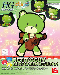 1/144 HGPG: Petit'gguy (Surfgreen & Guitar) - Model Kit