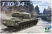 Takom 1/35 U.S. Heavy Tank T30/34 Model Kit
