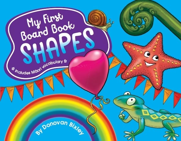 My First Board Book: Shapes by Donovan Bixley image