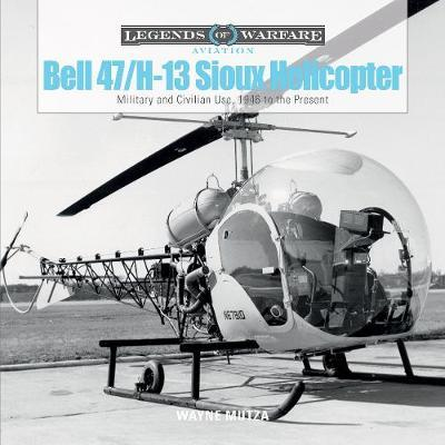 Bell 47/H-13 Sioux Helicopter by Wayne Mutza