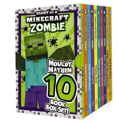 Diary of a Minecraft Zombie: Mouldy Mayhem 10 Book Box Set! by Zombie, Zack