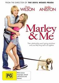 Marley & Me on DVD