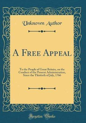 A Free Appeal by Unknown Author