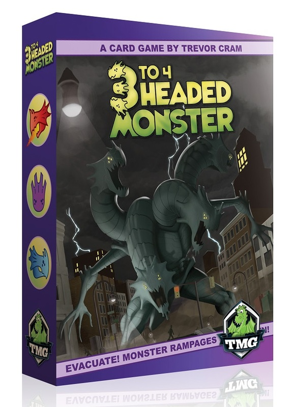 3-4 Headed Monster - Card Game