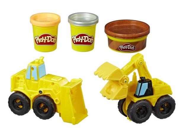 Play-Doh: Wheels - Excavator & Loader Playset