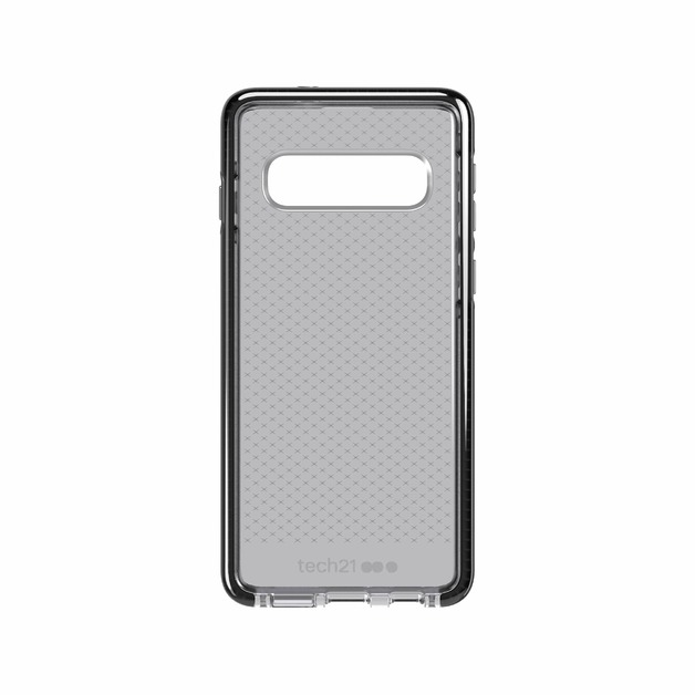 Tech21: Antimicrobial BioShield | Evo Check for Galaxy S10+ - Smokey/Black