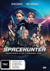 Space Hunter: Adventures In The Forbidden Zone on DVD