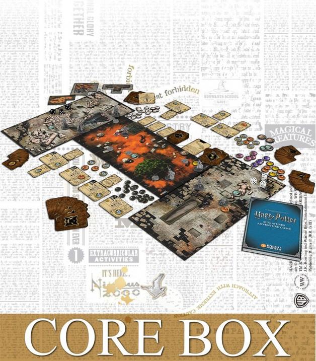 Harry Potter: Miniatures Adventure Game - Core Set