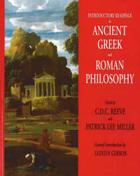 Introductory Readings in Ancient Greek and Roman Philosophy by Lloyd P. Gerson image