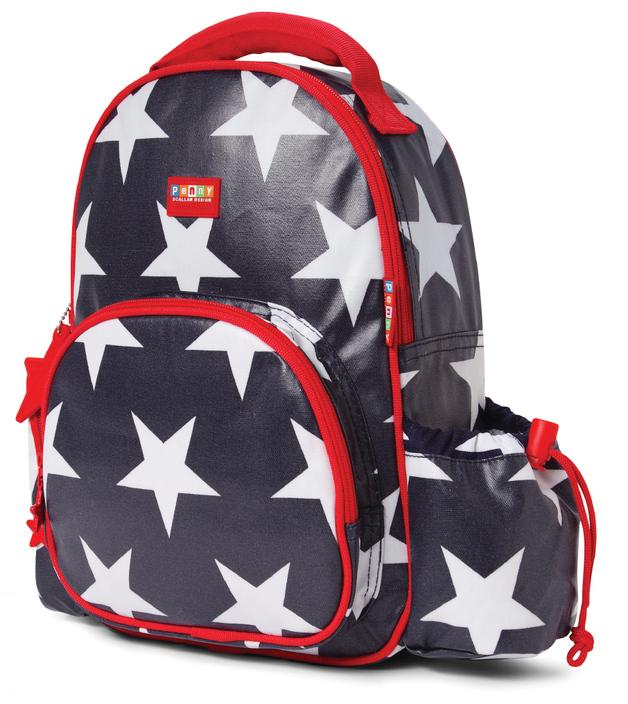 Penny Scallan: Backpack Medium Navy Star
