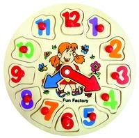 Fun Factory - Girl Puzzle Clock
