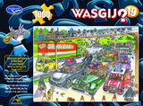 Wasgij 1000pc Puzzle - 19 Cone-Gestion