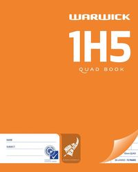 Warwick 1H5 36lf 10mm Quad Exercise Book