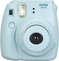 Fujifilm Instax Mini 8 Camera Soft Bundle - Blue
