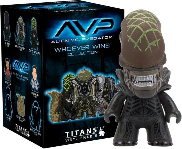 Alien vs Predator - The Whoever Wins Titans (Blind Box)