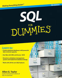 SQL For Dummies by Allen G Taylor image
