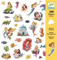 Djeco: 160pc Stickers Set (Mermaids)