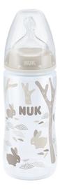 NUK: First Choice - Polypropylene Bottle (300ml) - White Rabbits