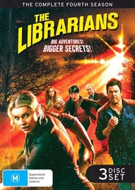 The Librarians - Complete Season 4 on DVD