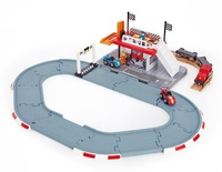 Hape: Racetrack Station - Wooden Playset