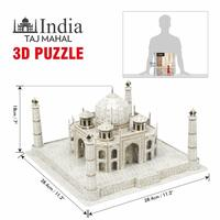 Cubic Fun: National Geographic 3D Puzzle - The Taj Mahal (India) image