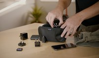 Mophie: ChargeStream Travel Kit - Black
