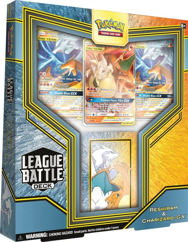 Pokemon TCG: GX League Battle Deck - Reshiram & Charizard-GX