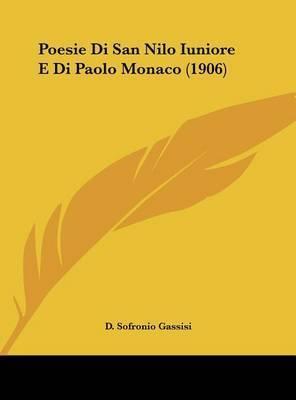 Poesie Di San Nilo Iuniore E Di Paolo Monaco (1906)