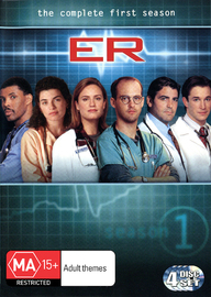E.R. - The Complete 1st Season (4 Disc Set) on DVD image