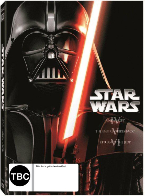 Star Wars IV, V, VI (Original Trilogy) on DVD image