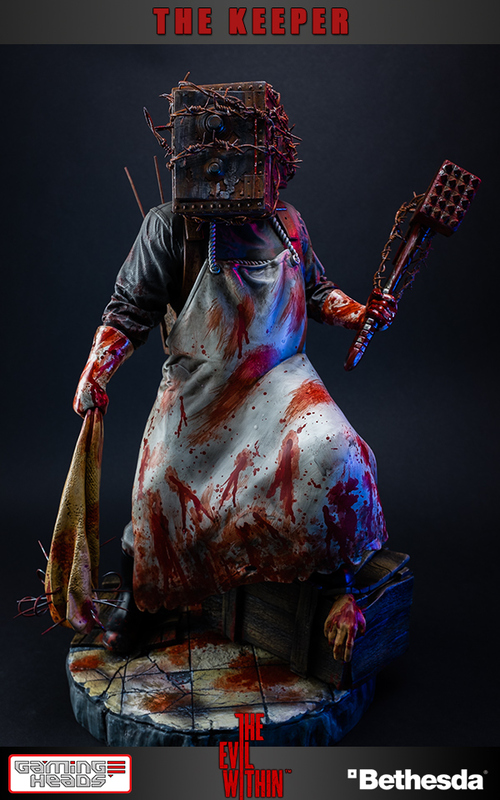 The Evil Within - The Keeper Statue
