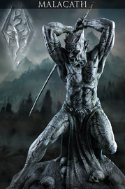 "Elder Scrolls V: Skyrim Shrine of Malacath 15"" Statue"