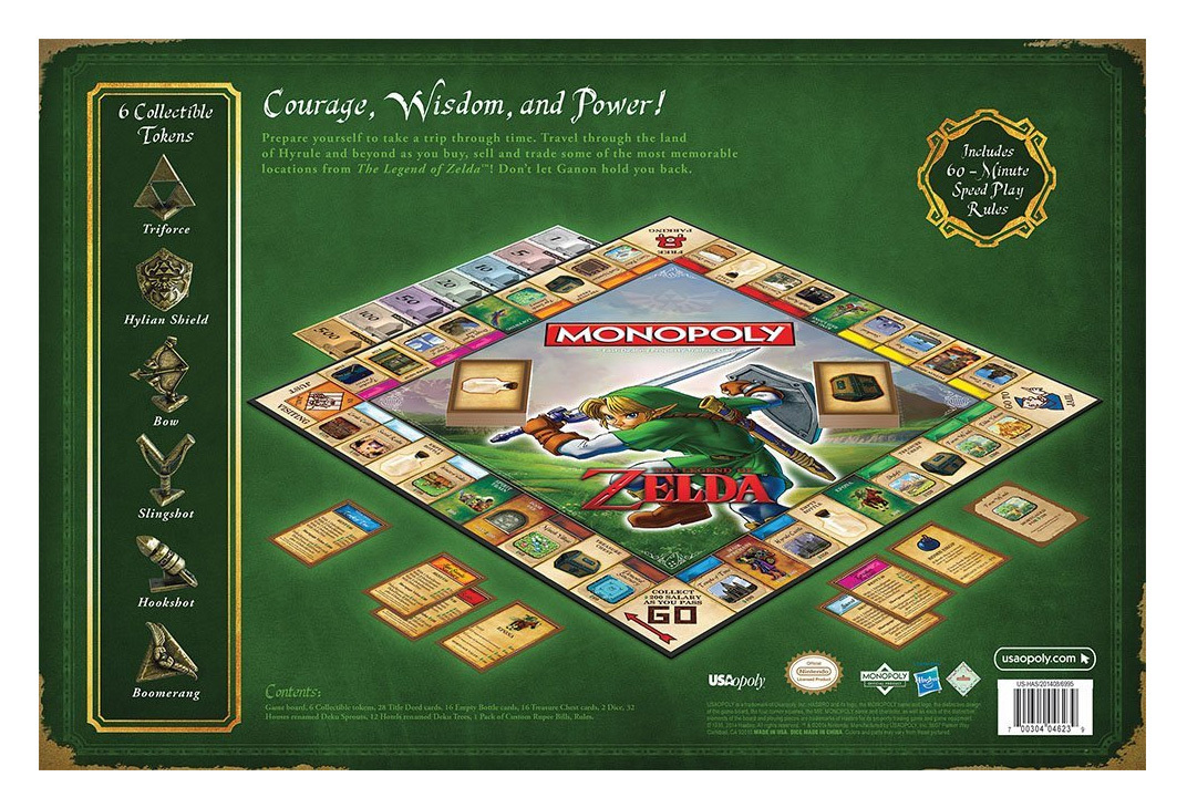 Monopoly: The Legend of Zelda Edition image