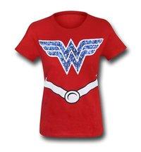 DC Comics Wonder Woman Girls T-Shirt (Small)