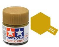 Tamiya Acrylic: Gold Leaf (X12)