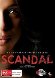 Scandal – Season 4 on DVD