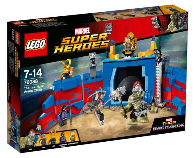LEGO Super Heroes: Thor vs. Hulk: Arena Clash (76088)