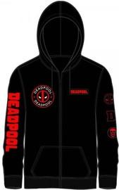 Deadpool: Multi Logo Zip Hoodie - (Large)