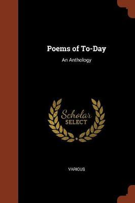 Poems of To-Day by Various ~