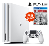 PlayStation 4 PRO 1TB Console - White for PS4