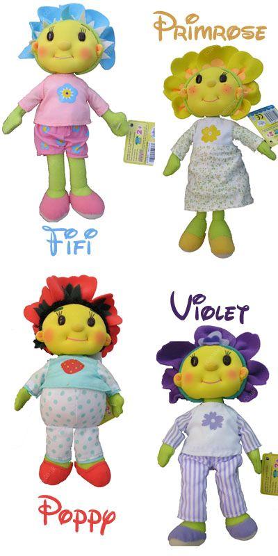 Fifi & the Flowertots Bedtime Beanies - Fifi image