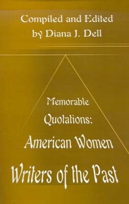 American Women Writers of the Past