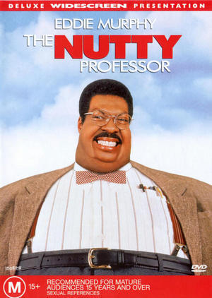 The Nutty Professor on DVD