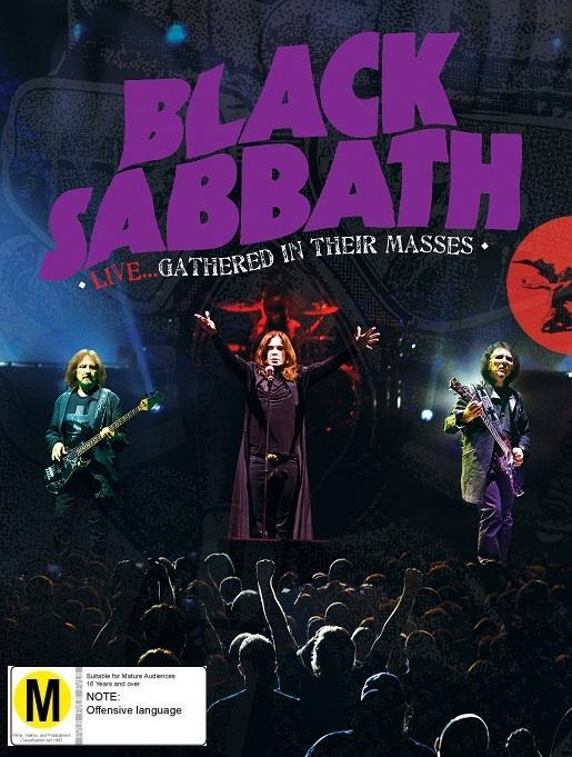 Black Sabbath Live: Gathered In Their Masses (DVD+CD) by Black Sabbath