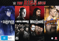 WWE: The Big 4 2015 (Collectors Box Set) on DVD