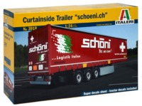Italeri: 1/24 Curtainside Trailer - Model Kits
