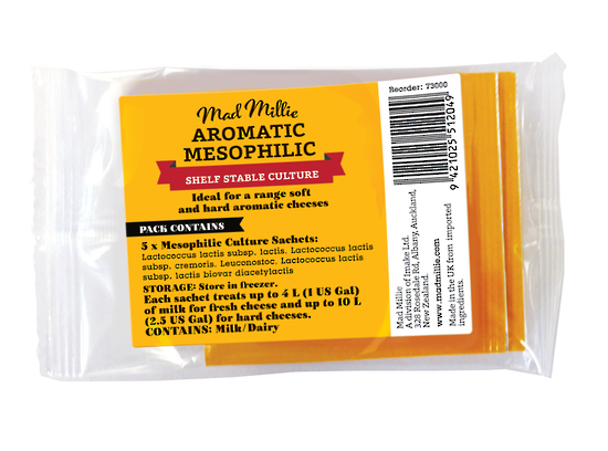Mad Millie: Aromatic Mesophilic Culture Sachets x 5