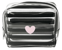 Miss Etoile: Large Cosmetic Bag - Heart image