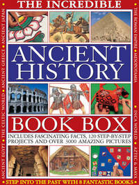 Incredible Ancient History Book Box by Fiona MacDonald